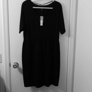 Apt 9 classic black sweater dress